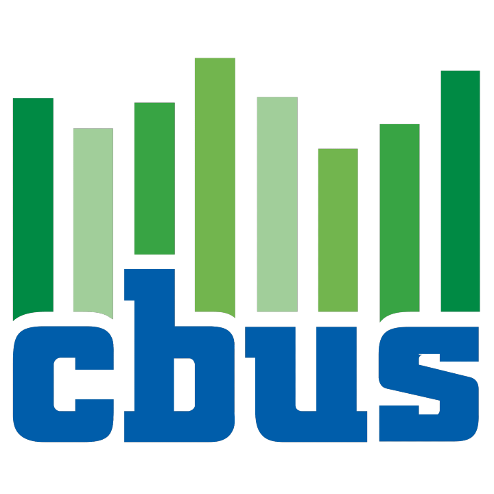 CBUS SUPER LOGO with Green vertical stripes
